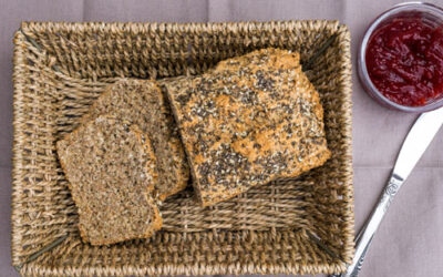 Sodabrood met granen en zaden